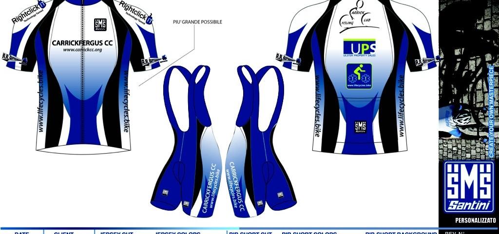 Club Kit Design Finalised